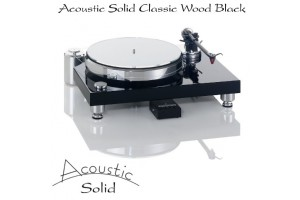 Acoustic Solid Classic Wood Black