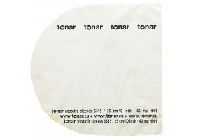TONAR INNER Sleeves 10'' (5315)/50 pcs/pack